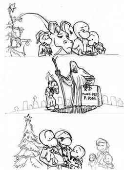 A Bone's Christmas Carol part 2 (rough sketch)