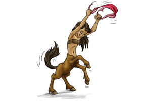 Adult Epona Dancing (Prudish Version)