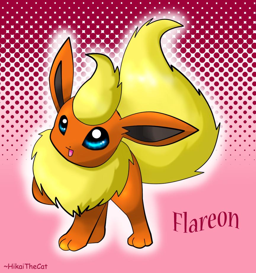Club Eevee y evoluciones Flareon__3_by_HikaiTheCat