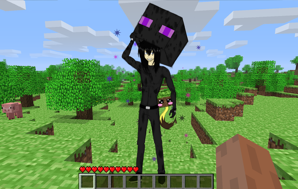 Mutant enderman in real life
