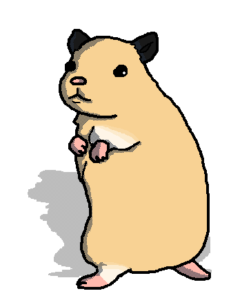 hamster drawing by artist who draws