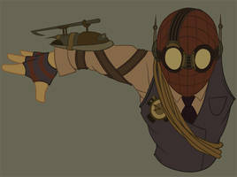 Draft03 - Steampunk Spider-Man by whysoawesome