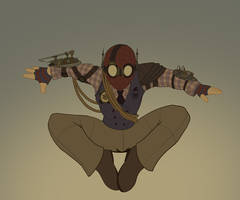 Draft05 - Steampunk Spider-Man by whysoawesome