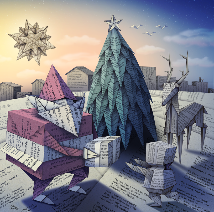 A Paper Christmas by whysoawesome