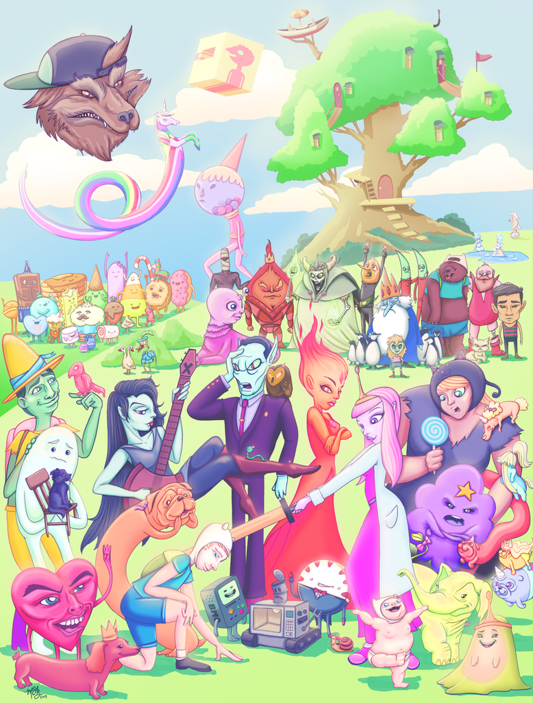 Come along with me... An 'Adventure Time' Tibute by whysoawesome