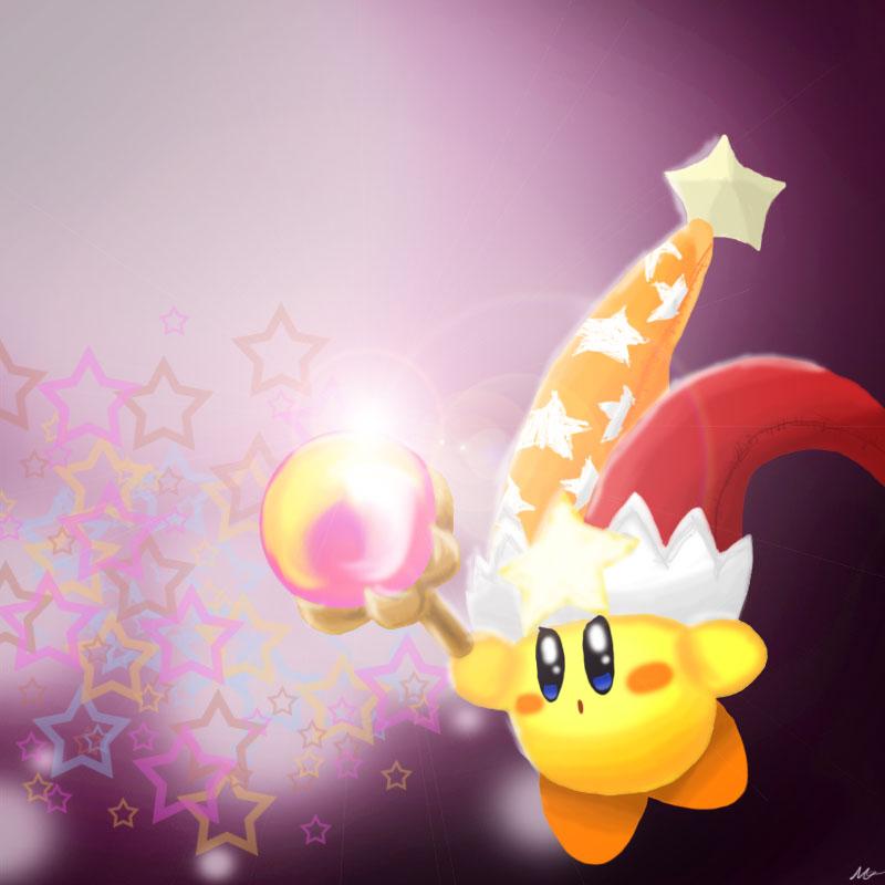 Flare Beam Kirby by AddSomePurple on DeviantArt