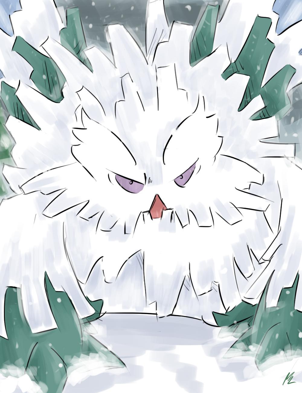 Pokemon Mega Abomasnow Images | Pokemon Images