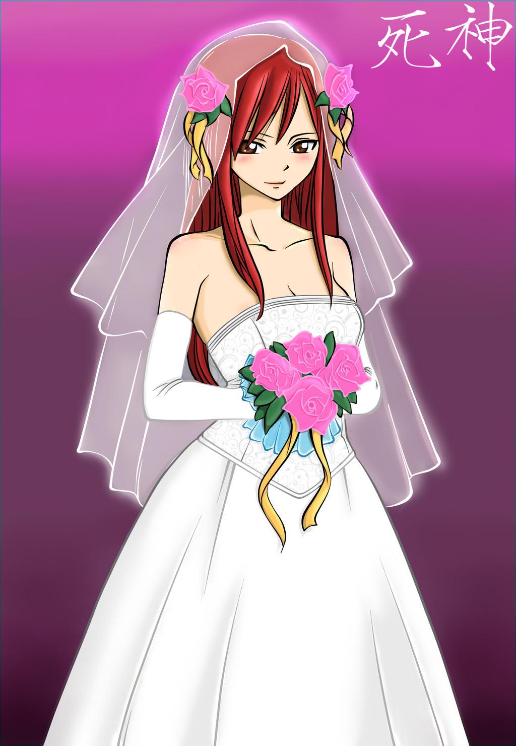 Erza's Wedding by Lemnel24