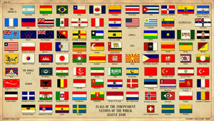 Flags of the World by edthomasten