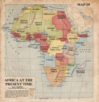 Africa, 1940 by edthomasten