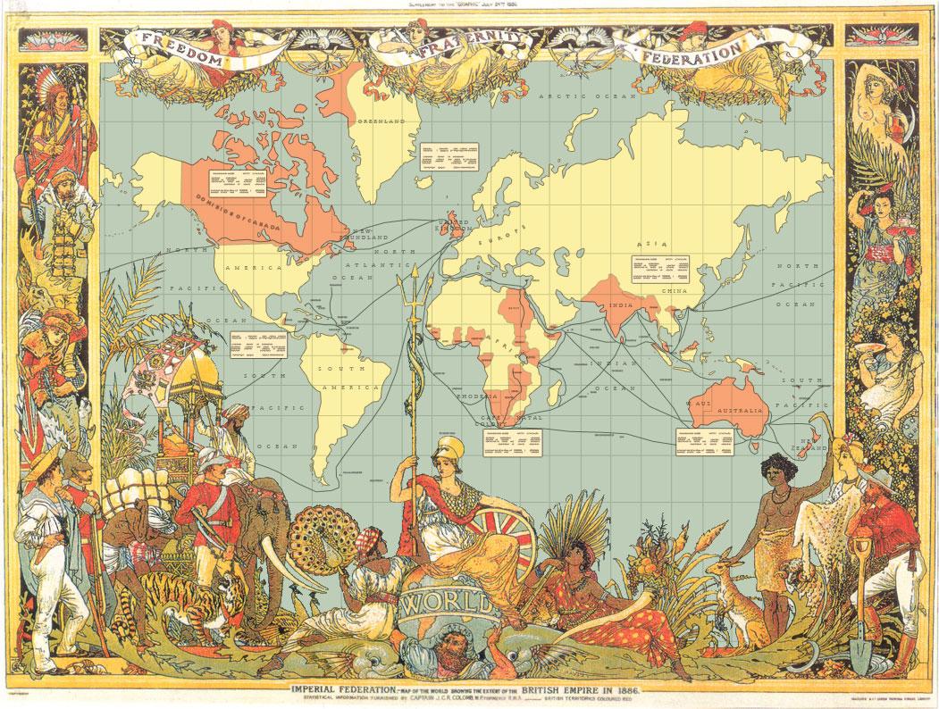 The British Empire by edthomasten
