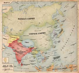 Asia, 1940 by edthomasten