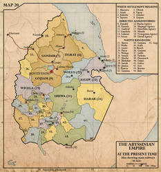 Empire of Abyssinia, c.1940 by edthomasten