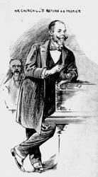 Randolph Churchill by edthomasten