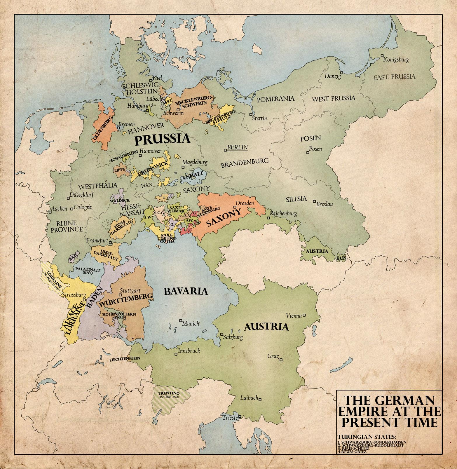 The German Empire, 1940 by edthomasten