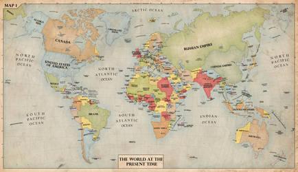 The World, 1940 by edthomasten