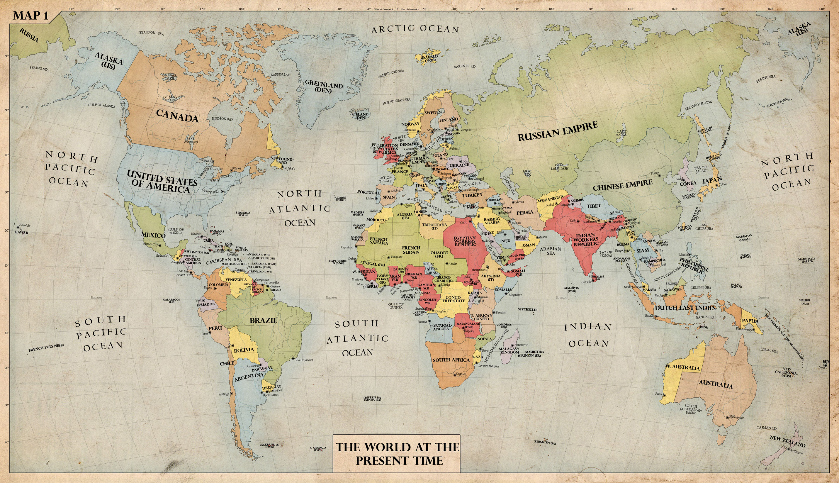 The World, 1940 by edthomasten