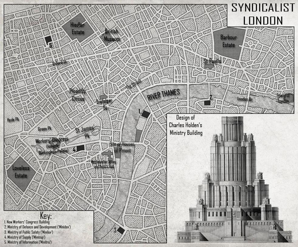 Syndicalist London by edthomasten