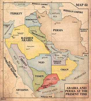 The Middle East, 1940 by edthomasten