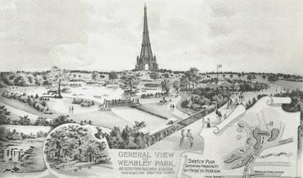 The Empire Tower, c.1900 by edthomasten