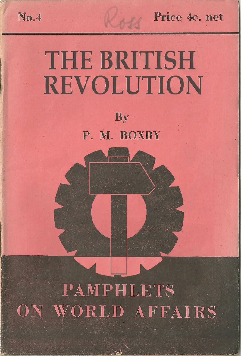 The British Revolution- Cover by edthomasten
