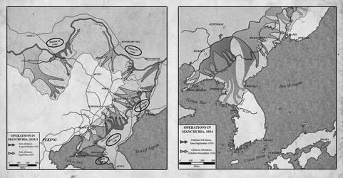 Manchuria, 1932-4 by edthomasten