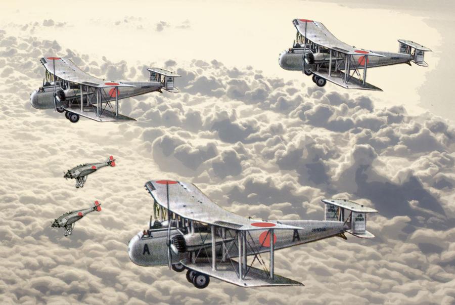 The War in the Air, c.1932 by edthomasten