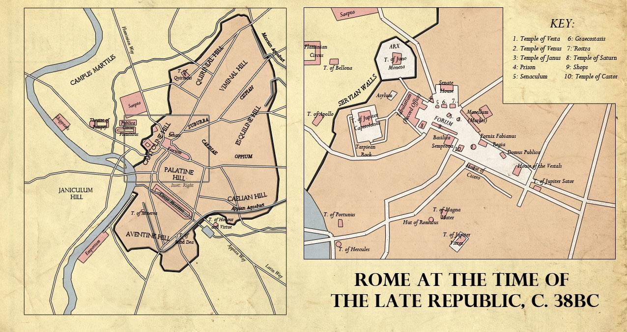 Rome, 38BC by edthomasten