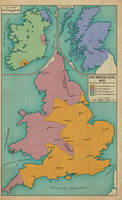 The British Isles, 1642 by edthomasten