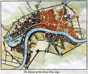 The Great Fire of London, 1647