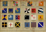 Flags of the 2nd English Civil War