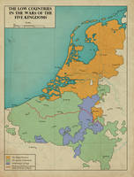 The Low Countries in the War of the Five Kingdoms by edthomasten