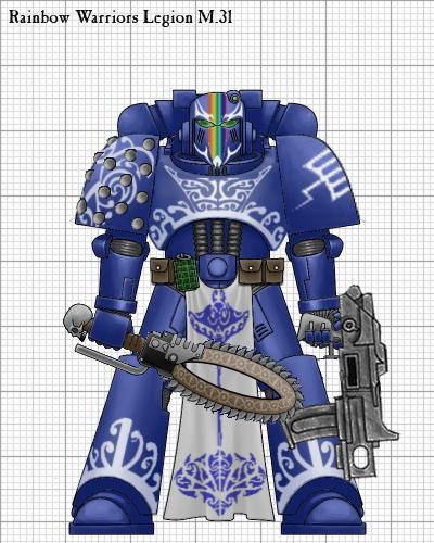 Warriors Of The Rainbow Watch Online: Index Astartes- Rainbow Warrior By Edthomasten On DeviantArt