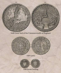 Great Seal and Coins of the English Commonwealth