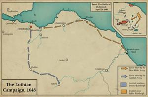 The Lothian Campaign, 1648