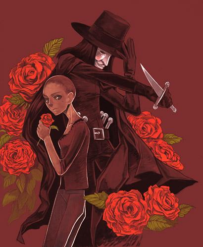 v for vendetta rose wallpaper - photo #37