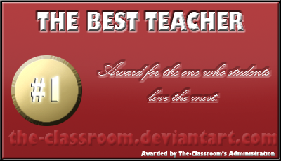 Teacher award: Best of by faireyes