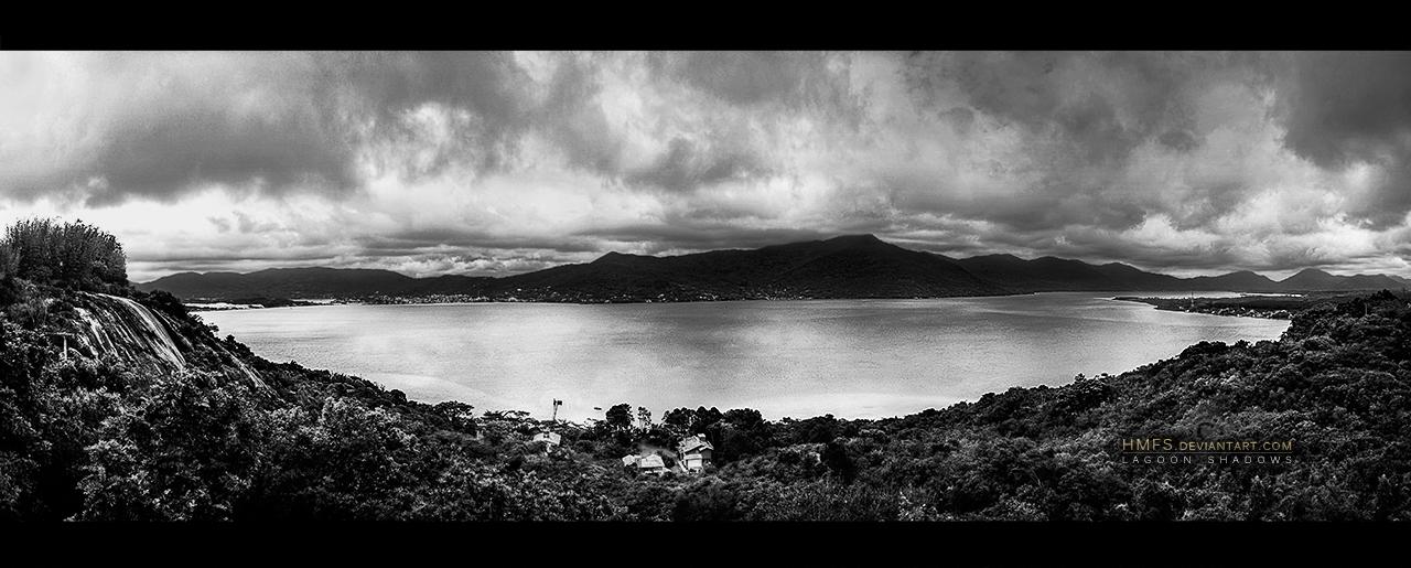 Lagoon shadows by Miguel-Santos