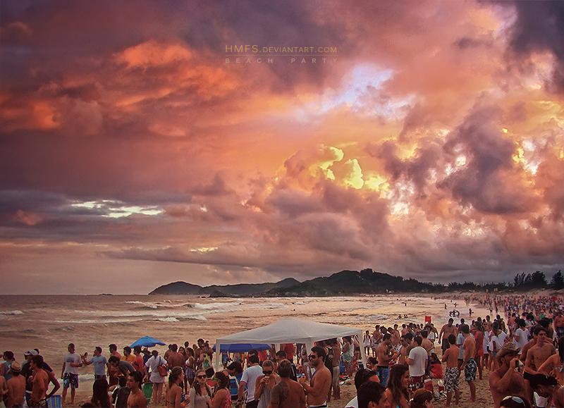 Beach Party by Miguel-Santos