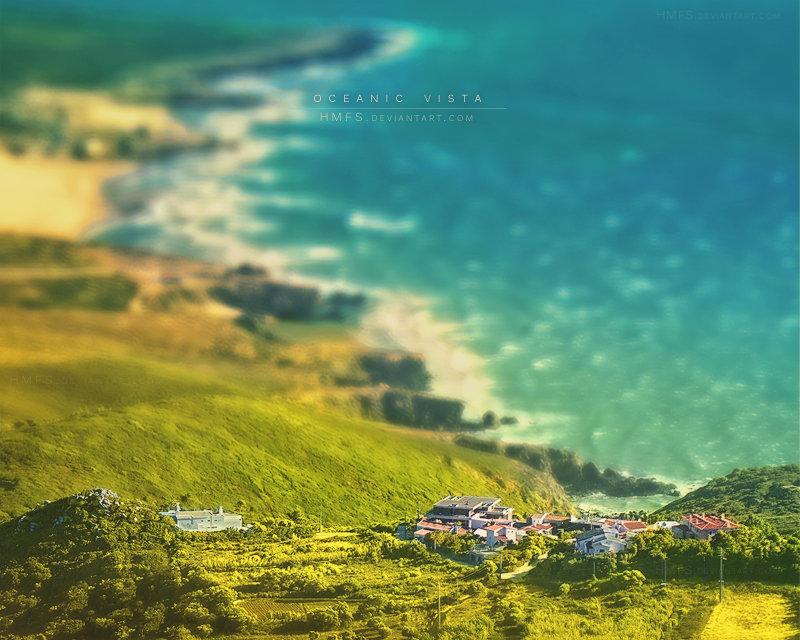 Oceanic Vista by Miguel-Santos