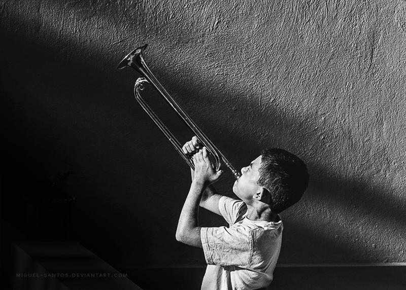 Let yourself be heard kid! by Miguel-Santos