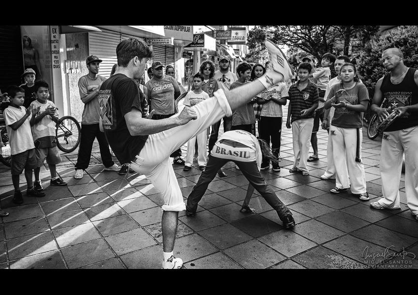 Capoeira by Miguel-Santos