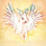 Happy Easter, from Grumpy Bunny by Miguel-Santos