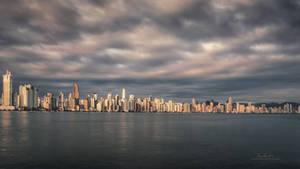 City at Dawn