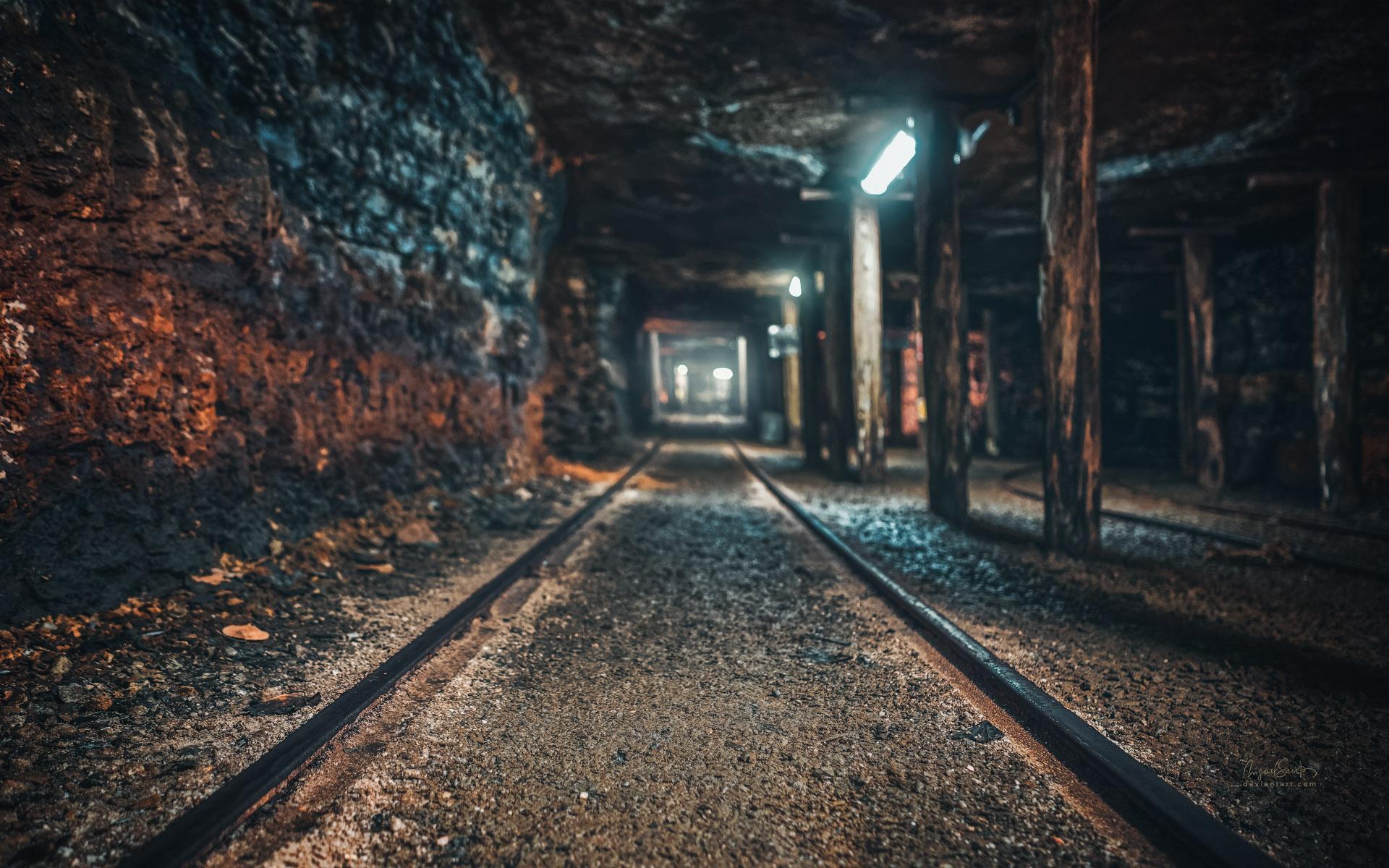 Coal mine by miguel santos free desktop wallpaper - Mining images hd ...