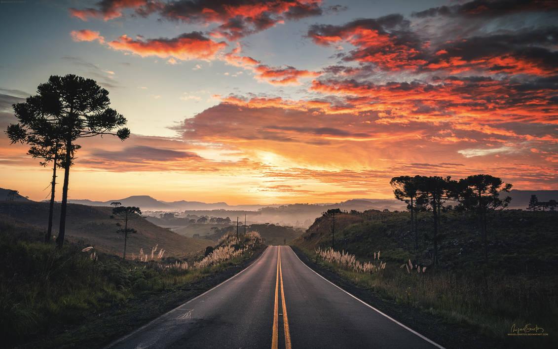 Roads - 2020 CALENDAR by Miguel-Santos