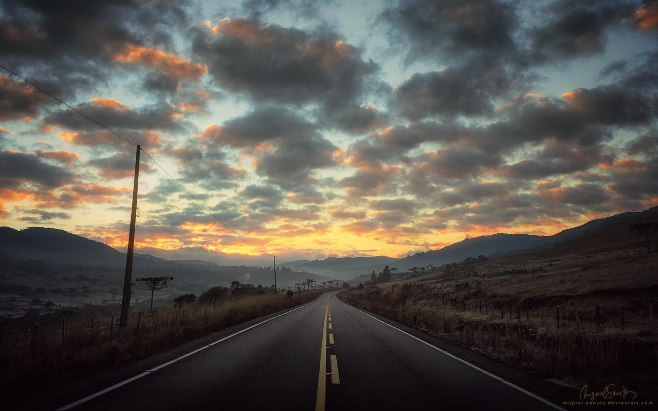 Sunrise Ahead by Miguel-Santos
