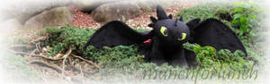 Toothless Plush Pattern - For Sale!