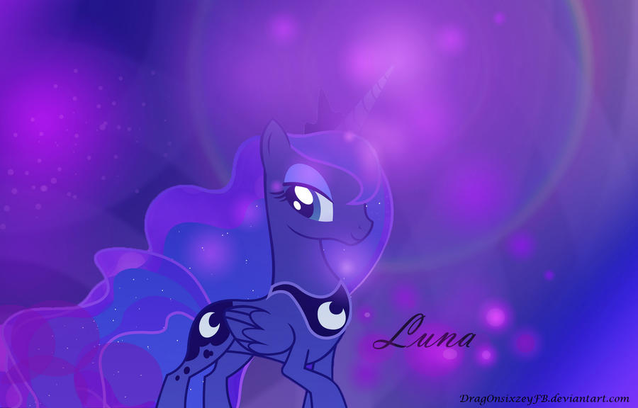 Luna Wallpaper by D-SixZey