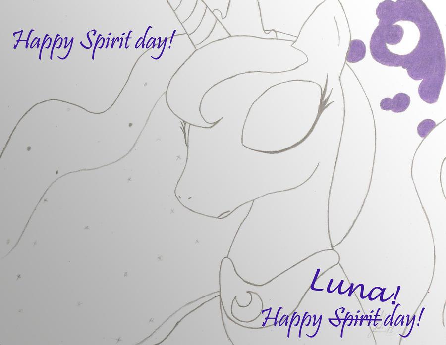 Luna Spirit DAY!!!! by D-SixZey